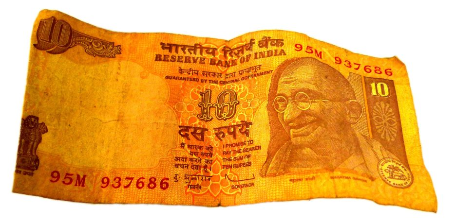 TEN RUPEE NOTE