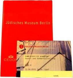 JEWISH MUSEUM ENTRANCE TICKET