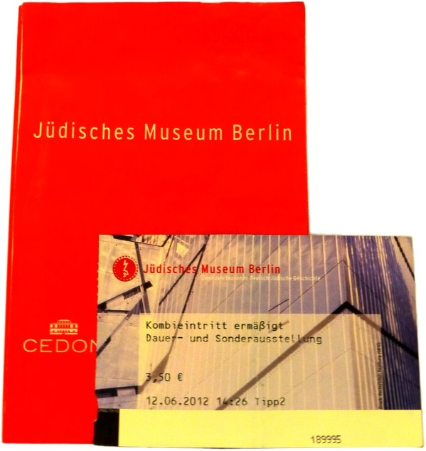 JEWISH MUSEUM ENTRANCE TICKET